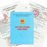Dịch vụ làm giấy phép lao động cho người nước ngoài cấp tốc