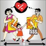 Nguyên tắc chia tài sản sau ly hôn.