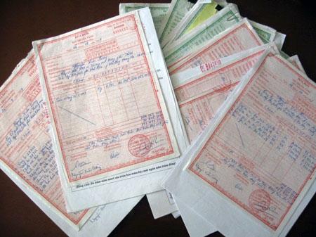 Lập hóa đơn khi trả lương bằng sản phẩm 2